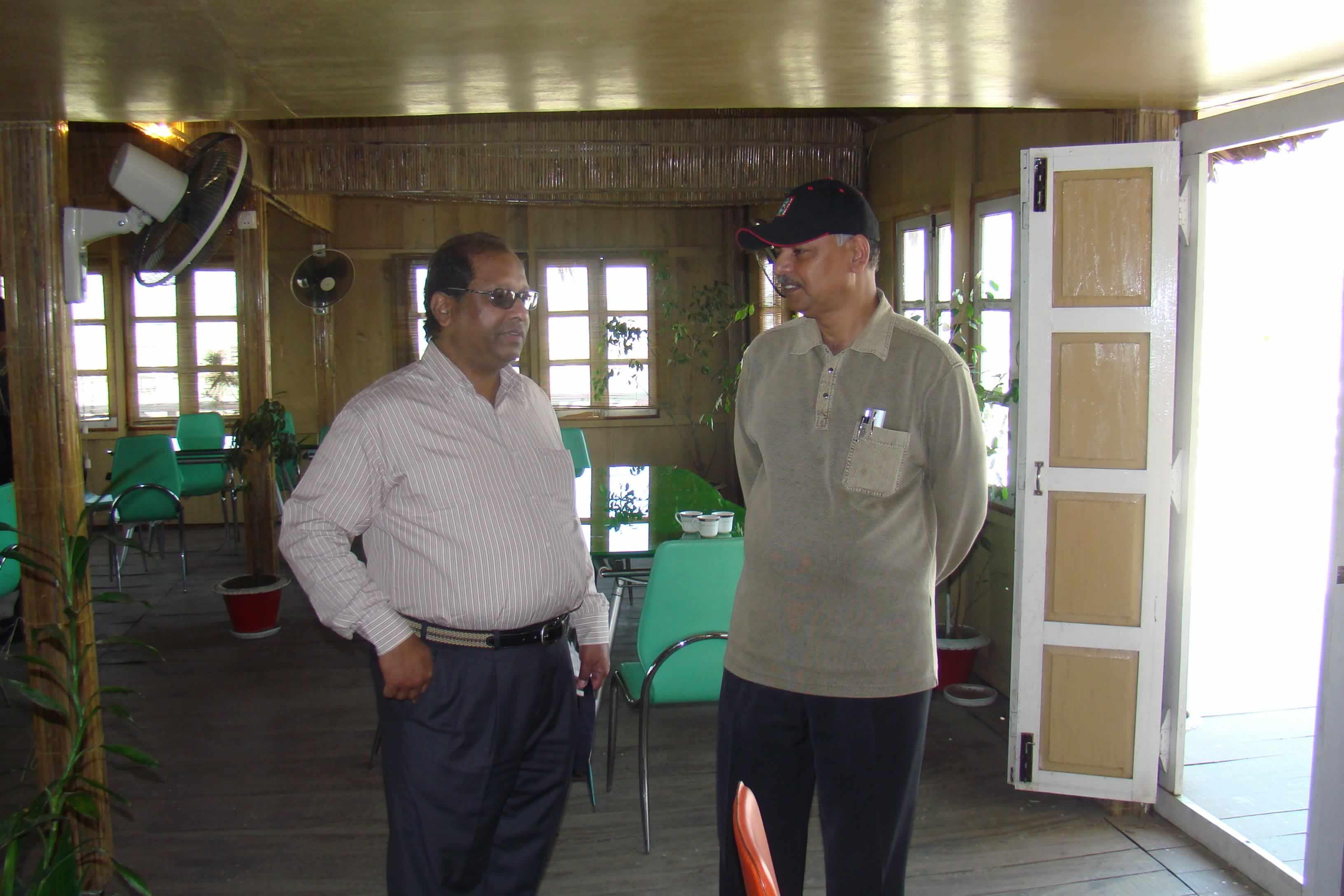 VC sir & Reg Sir in FDP, 2008
