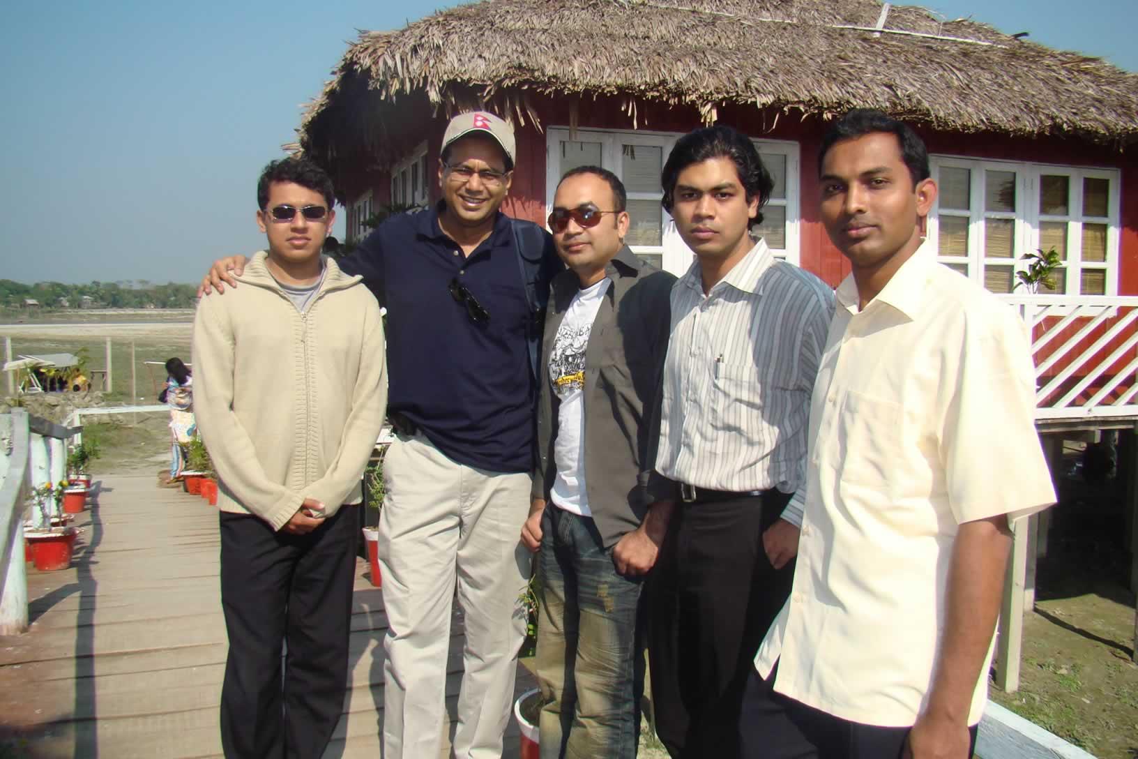 I, Sibli Sir, Azim Bhai ,Indranil Sir & Hanif Bhai In FDP, 2008