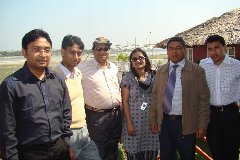 Polash Bhai, Ali hai, Register Sir, Rashida Mem, Tajuddin Bhai & Me IN FDP, 2008